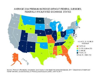 Upcoming Federal Court Decision Could Mean Premium Increases For - Us federal courts map